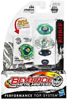 Beyblade Metal Fusion - Attack Battle Top #BB71 Ray Striker by Beyblade