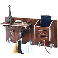 7Cr Beautiful Wooden Shelf For Home Decor/Wall Shelf Rack Set/Wall Mount Stylish Wooden Shelves