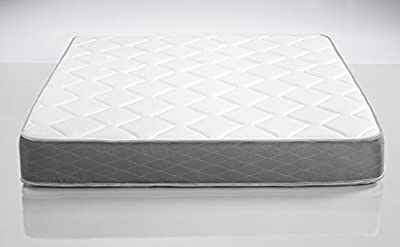 "Dreamfoam Bedding Dream 9"" Two-Sided Medium Firm Pocketed Coil Mattress"