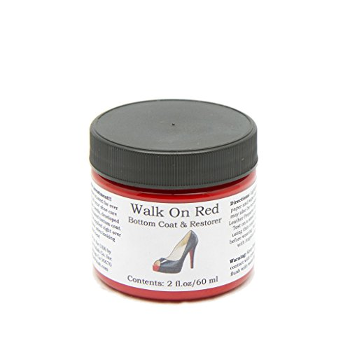 Wrap Leather Sole Rubber (Angelus Paint Walk On Red Restorer 2 Oz)