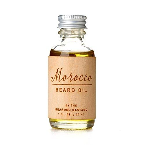 Morocco Beard Oil by The Bearded Bastard   Beard Care, Beard Grooming, Essential Oils, Hair Oil, Moisturizer, Jojoba Oil, Argan Oil   ALL NATURAL, 1 oz