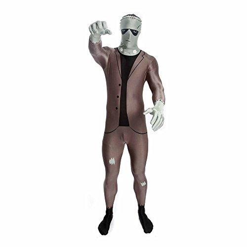 Morphsuits Men's Classic Frankenstein Adult, Multi, (Frankenstein Suit)