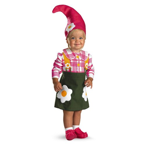 TOO CUTE TOO SPOOK Flower Garden Gnome - Size: 2T -