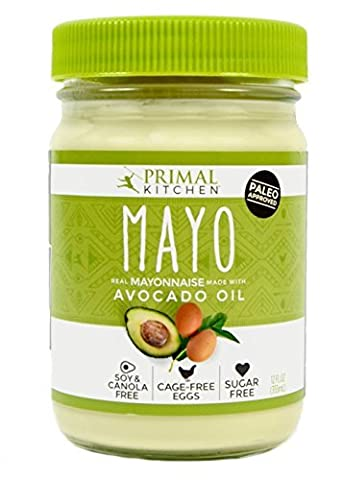 Primal Kitchen - Avocado Oil Mayo, First Ever Avocado Oil-Based Mayonnaise, Paleo Approved and Organic, (12 Ounce, 1 - Ingredients In Mayonnaise