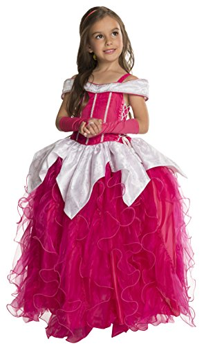 Toddler Princess Pink Costumes (Rubie's Deluxe Princess Michelle Costume, Pink,)