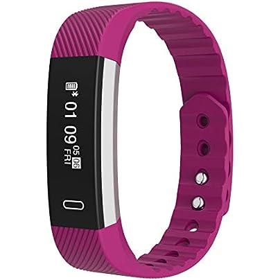 GSANSAN Wristband LYBBA Smart Bracelet Bluetooth Sports Heart Rate Sleep Waterproof Pedometer Running Fitness Estimated Price £29.99 -