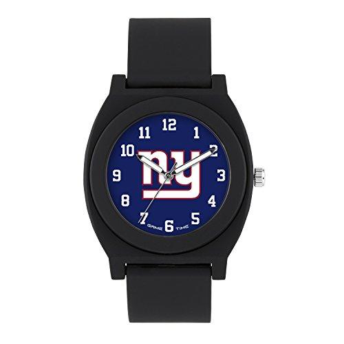- NFL New York Giants Mens Fan Series Wrist Watch, Black, One Size