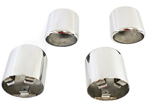 Corvette Exhaust Extension (C5 Corvette Stainless Steel Exhaust Extensions Tips 1997-2000)