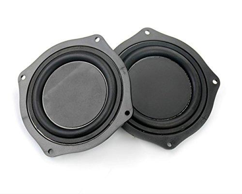 Aoshike 2pcs 4 Inch DIY Bass Speaker loudspeaker Vibrating Membrane Passive Bass Woofer Diaphragm Plate (Subwoofer Radiator compare prices)