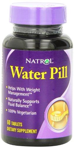 Les comprimés de pilules Natrol eau, 60-Count