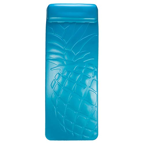 SwimWays Aquaria Pineapple Breeze Lounge - Durable Aqua Cell Foam Pool Float