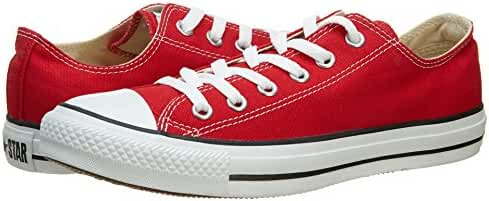 Converse Unisex Chuck Taylor All Star Oxfords Red 5 D(M) US