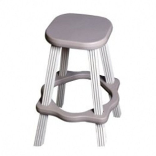 (QCA Spas LABS26G Spa Side Stool, 26-Inch, Gray)