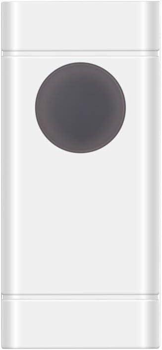 Carillon Sans Fil avec 1 Transmetteur et 1 R/écepteur Enfichable et 58 Sonneries 4 Niveau Sonnette de Porte /Étanche /à 300 M/ètres de Port/ée omitium Sonnette ext/érieure /étanche Sonnette sans Fil