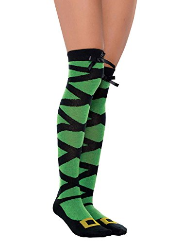 Whimsy Witch Halloween Over-the-knee Socks