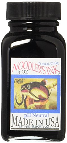 Noodlers Ink 3 Oz Turquoise by Noodler's