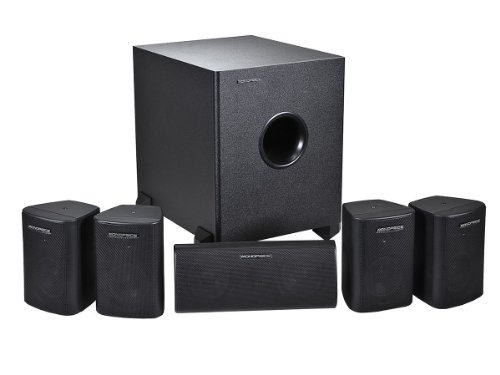 Monoprice 108247 5.1-Channel Home Theater Speaker System, Si