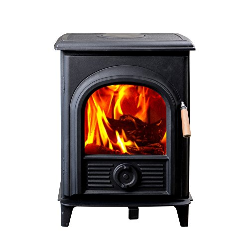 HiFlame Epa Approved Wood Burning Stove HF905U, Small ()