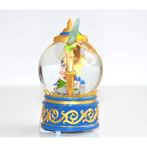 Disneyland Paris Tinker Bell Castle Musical Snow Globe