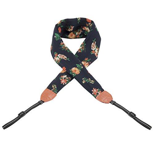 Camera Strap,Igingko Camera Belt for All DSLR Camera Nikon/Canon/Sony/Olympus/Samsung/Pentax ETC (chrysanthemum)