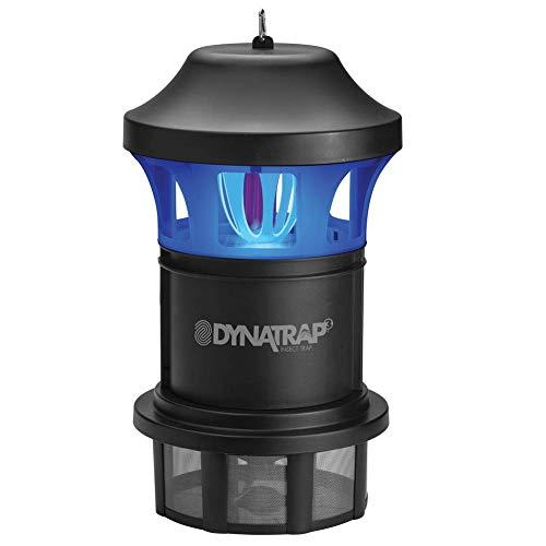 Series 100 Mount Deck - DynaTrap Insect Trap (DT1775), 1 Acre, AtraktaGlo Light, Black