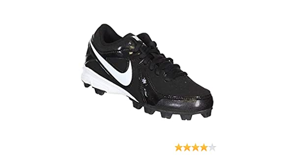 outlet store dc001 b7adb Amazon.com   NIKE Mens MVP Keystone Low Baseball Cleats - Size  6.5, Black  white   Baseball   Softball