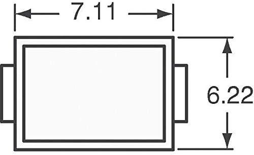 Pack of 10 TVS DIODE 33V 53.3V DO214AB SMLJ33CA-TP