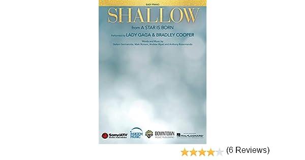 Lady Gaga – Shallow (de A Star Is Born) – Easy Piano partitura de ...