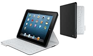 logitech fabricskin keyboard folio carbon black for ipad 2 and ipad 3rd 4th. Black Bedroom Furniture Sets. Home Design Ideas