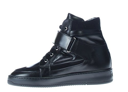 Paciotti 4Us Women's High Top Trainers Sneakers PMMAD6 BLACK Wedge Black sale extremely buy cheap newest sale affordable WmXvs9fLtC