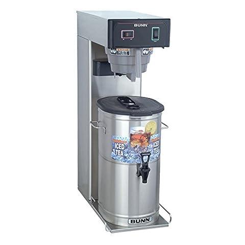 BUNN 36700.000899999999 3 gallon Iced Tea Brewer, Silver/Black - 3 Gallon Iced Tea
