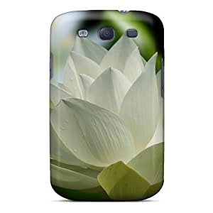 Mwaerke Case Cover For Galaxy S3 - Retailer Packaging White Lotus For Chloe Protective Case