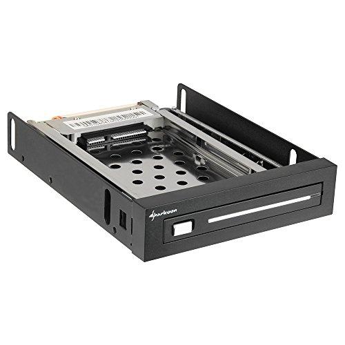 Sharkoon PCD8000 - Caja de Disco Duro, Negro