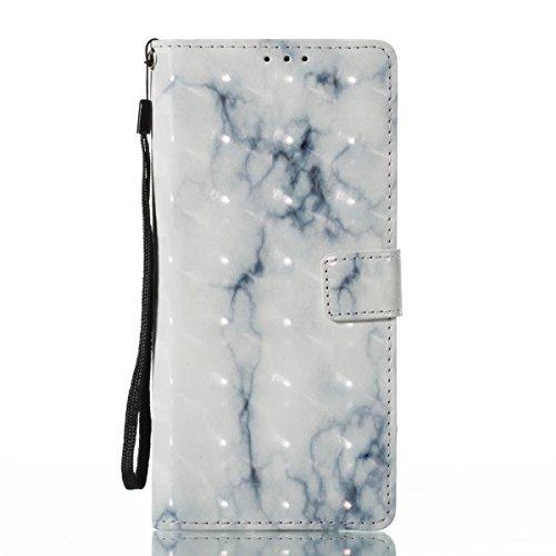 Funda Samsung Galaxy Note 8, Ceniza blanca Funda Libro de Cuero Flip Cover con TPU Case Interna Para Samsung Galaxy Note 8, Wallet Case con Soporte Plegable, Ranuras para Tarjetas y Billete