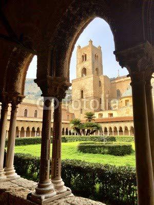 Adrium der Anhänger der Kattedrale von Monreale - Palermo(192762130)