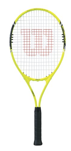 Wilson Energy XL Adult Strung Tennis Racket, 4 1/2