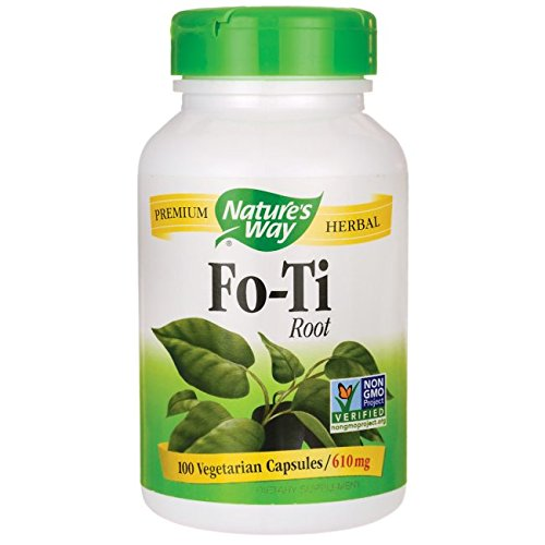 Fo Ti Root 100 Caps - Nature's Way Fo-Ti Root 610 mg, 100 Vcaps