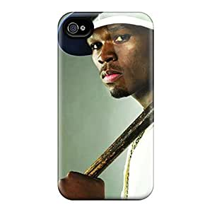 High Quality 50 Cent Case For Iphone 4/4s / Perfect Case