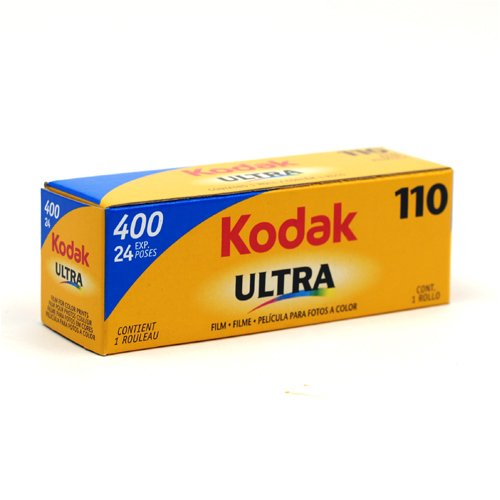Kodak 400 Ultra 110 Format Film 24 Exposure Outdated
