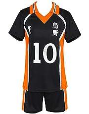 KINOMOTO Haikyuu!! Karasuno High School Sport Suit Volleyball Uniform Cosplay Costume