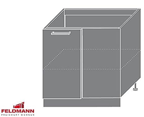 Base angolare 169031 armadio cucina 90 cm jersey/anteriore colore a ...