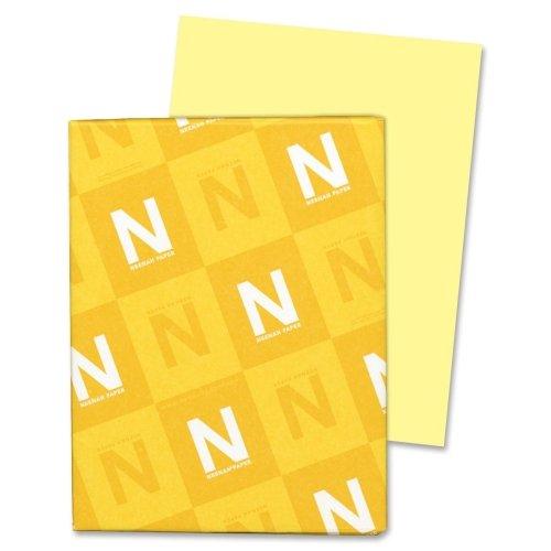Wholesale CASE of 15 - Wausau Exact Vellum Bristol Paper-Vellum Bristol Paper,67 lb,8-1/2''x11'',92 Bright,250/PK,YW by Wau