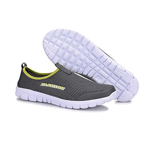 Match Quick Drying Multisport Casual impermeabile shoes 2018 Outdoor Scarpe Gray on Slip Dark adulti da Xujw Aqua Sandali leggero Uomo Aqua da acqua Sandali per Offroad Unisex Scarpe Perfetto nvPwFBxRq8