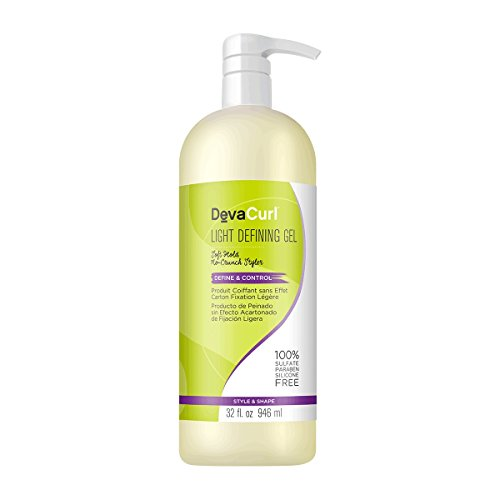 DevaCurl Light Defining Styling Hair Gel, 32oz ()