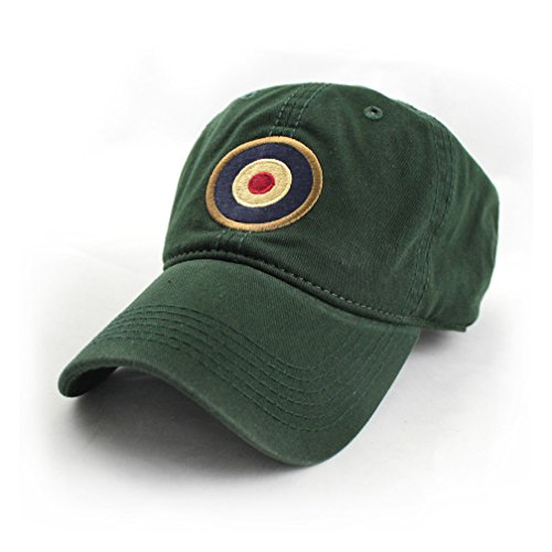 Royal Air Force Roundel/MOD Target Ballcap, RAF Green