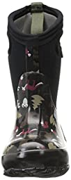 Bogs Classic Woodland Waterproof Insulated Rain Boot (Infant/Toddler/Little Kid/Big Kid),  Black, 10 M US Toddler