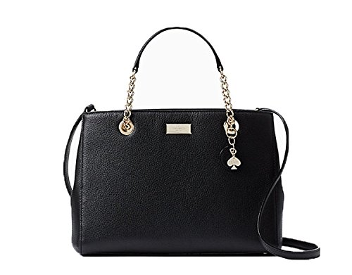 Satchel Spade Lane Briar Leather Black Meena Chain Crossbody Kate xYfgzqwq