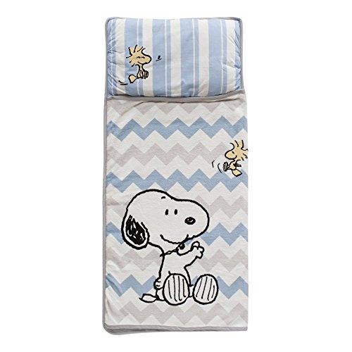 Lambs & Ivy Snoopy Nap Mat, Blue by Lambs & Ivy