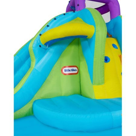 Little Tikes Roomy Splash Water Slide Pool Made in The Shade Waterpark