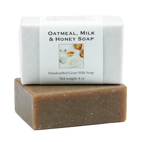 Oatmeal Milk & Honey Goats Milk Soap - 4 oz bar ...